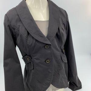 CAbi Lined Jacket. Dark Gray. Sz. 6
